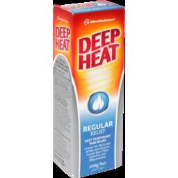 Photo of Mentholatum Deep Heat Regular Rub 100g 100g