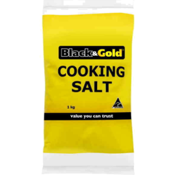 Photo of Black & Gold Salt Cooking 1kg