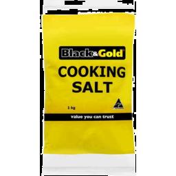 Photo of Black & Gold Cooking Salt 1kg