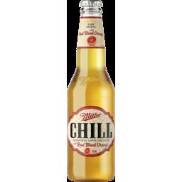 Photo of Miller Chill Blood Orange Bottle