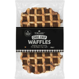 Photo of Toscano Waffles Choc Chip 4 Pack