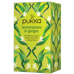 Photo of Pukka Lemongrass & Ginger 20's