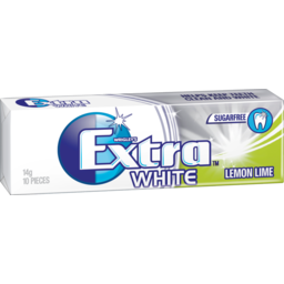 Photo of Extra Professional White Lemon Lime Single Pack 14g