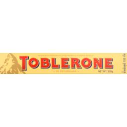 Photo of Toblerone Milk Chocolate Bar 100g