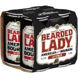 Photo of Bearded Lady Bourbon & Cola 8% 375ml 4 Pack
