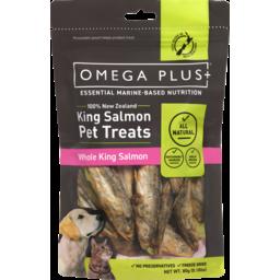 Photo of Omega Plus King Salmon Pet Treats 80gm