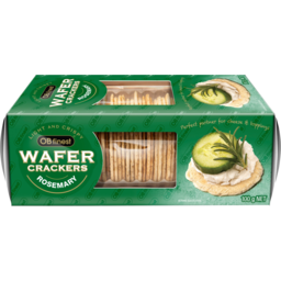 Photo of Ob Finest Rosemary Wafer Crackers 100g