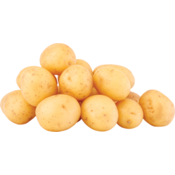 Photo of Potatoes Loose Washed White (Approx. 4 units per kg)