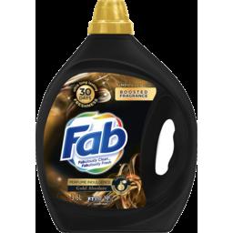 Photo of Fab Perfume Indulgence Gold Absolute, Liquid Laundry Washing Detergent, 3.6l