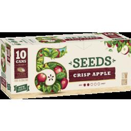 Photo of 5 Seeds Crisp Apple Cider 330ml 10 Pack