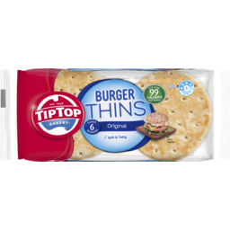 Photo of Tip Top Burger Thins Original 200g