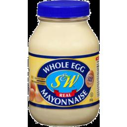 Photo of S&W Whole Egg Mayonnaise 880gm