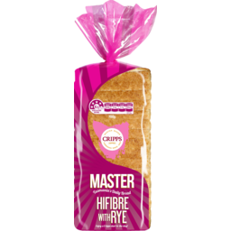 Photo of Cripps Master Loaf Hifibre with Rye 700g