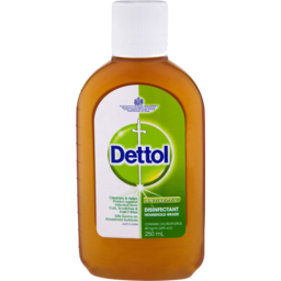 Photo of Dettol Classic Antibacterial Disinfectant Liquid 250ml
