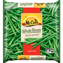 Photo of Mccain Vegetables Whole Beans 500gr 500