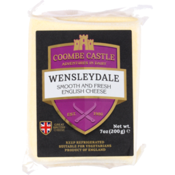 Photo of Coombe Castle Cheese Wensleydale 200g