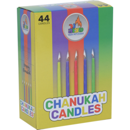 Photo of Ner Mitzvah Candles Chanukah 44 Pack