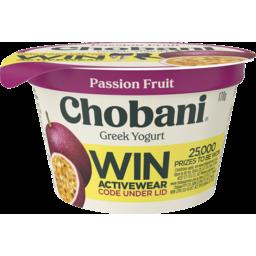 Photo of Chobani Greek Yogurt Passion Fruit 170g