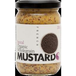 Photo of Spiral Foods Organic Wholegrain Mustard