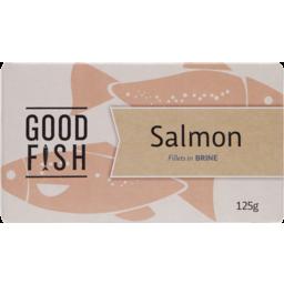 Photo of Good Fish Salmon Fillet Brine 125g