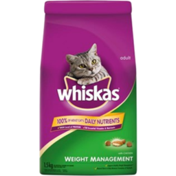 Photo of Whiskas Dry Weight Management 1.5kg