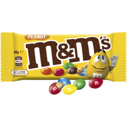 Photo of M&M's Peanut Chocolate Singles Bag 46g