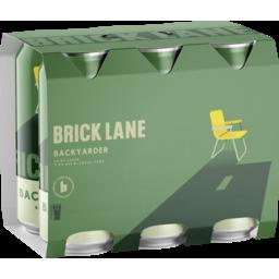 Photo of Brick Lane Backyarder Crisp Lager Can