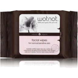 Photo of Wotnot Wipes - Facial (Sensitive Skin) 25 wipes
