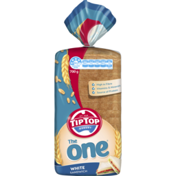 Photo of Tip Top Bakery Tip Top® The One® White Sandwich 700g