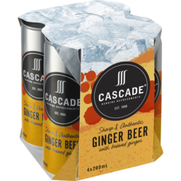 Photo of Cascade Ginger Beer Cans