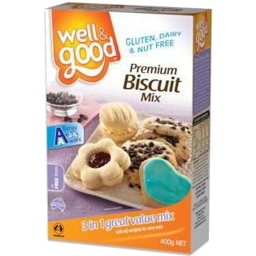 Photo of Well & Good Biscuit Mix 400gm