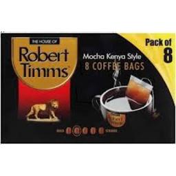 Photo of Timms Coffee Bags Mocha Kenya 8s