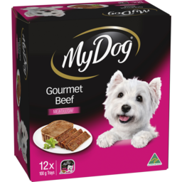 Photo of My Dog Wet Dog Food Gourmet Beef Loaf 12x100g Trays