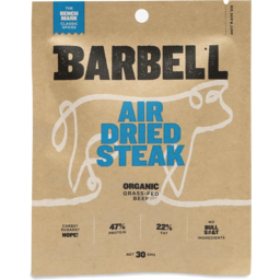 Photo of Barbell Air Dried Classic Steak 30g