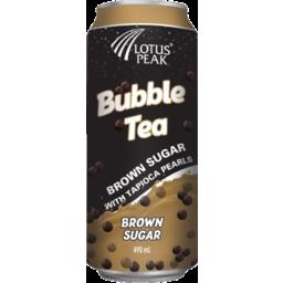Photo of Lotus Peak Bubble Tea Brown Sugar With Tapioca Pearls 490ml