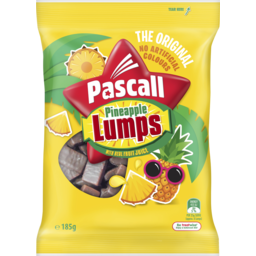 Photo of Pascall Pineapple Lumps Lollies 185g