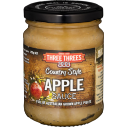 Photo of 333 Country Style Apple Sauce 250gm
