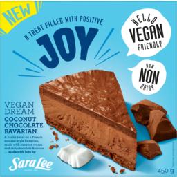 Photo of Sara Lee Joy Vegan Dream Coconut Chocolate Bavarian 450g
