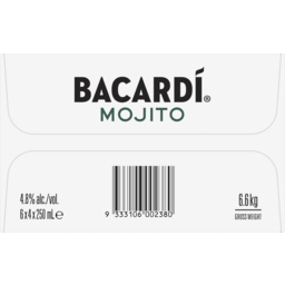 Photo of Bacardi Mojito Can