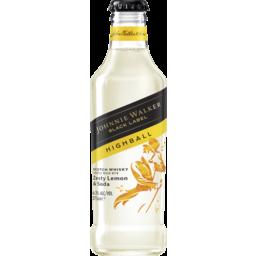 Photo of Johnnie Walker Black Highball Zesty Lemon Bottle
