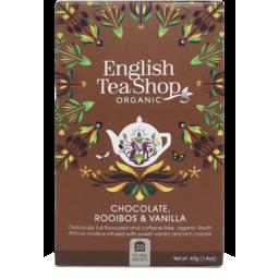 Photo of English Tea Shop Tea - Chocolate, Rooibos & Vanilla