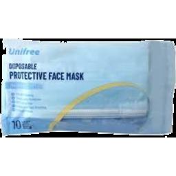 Photo of Face Mask 9.5x17.5cm 10pk