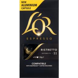 Photo of Lor Espresso Cap Ristretto10pk