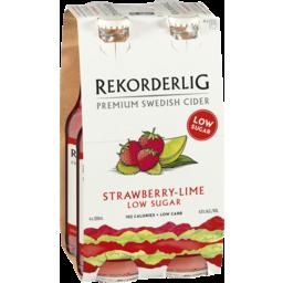 Photo of Rekorderlig Strawberry-Lime Low Sugar Stubbies