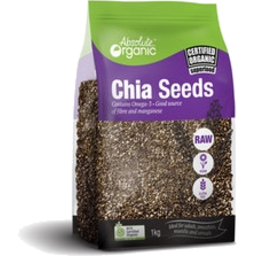 Photo of Abs Org Black Chia Seeds 400g