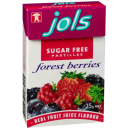 Photo of Jols Sugar Free Pastilles Forrest Berries 25g