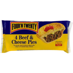 Photo of Fourn Twenty Beef & Cheese Pack Of 4g