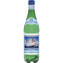 Photo of Santa Vittoria Italian Mineral Water Sparkling Pet 750ml