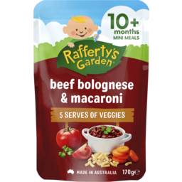 Photo of Raffertys Garden Babys Bolognese With Macaroni 170g