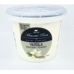 Photo of Margaret River Indulgent Yoghurt Vanilla 550gm